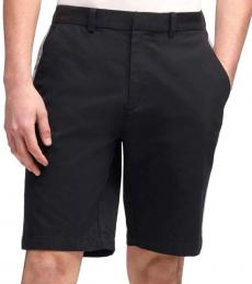 DKNY Black Bedford Stripe Shorts