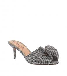 Charlotte Olympia Black White Bow Heels