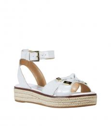 Michael Kors Optic White Ripley Sandals