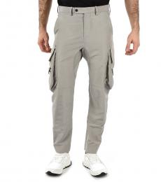 Grey Cargo Pocket Pants