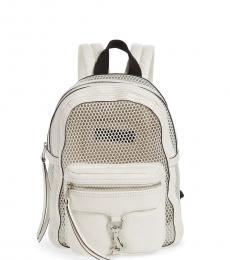 Rebecca Minkoff White MAB Small Backpack