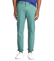 Ralph Lauren Green Stretch Straight Fit Chino