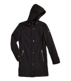 Calvin Klein Black Softshell Hooded Jacket