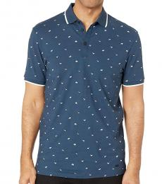 Navy Blue Pejack Farm Polo