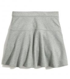 J.Crew Little Girls Heather Grey Uniform Ponte Skirt