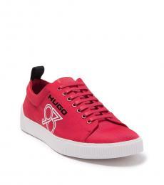 Hugo Boss Dark Red Zero Tennis Sneakers