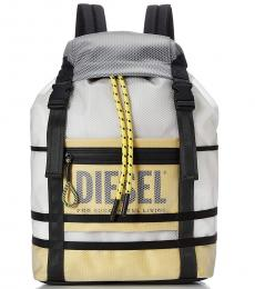 Diesel Yellow F-Suse Large Backpack