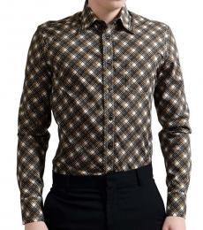 Multicolor Button Down Dress Shirt