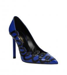 Blue Anja Heels