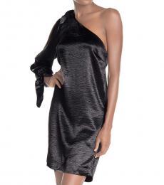 Black Nash Satin Dress