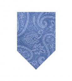 Michael Kors Blue Paisley Tie