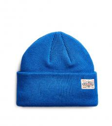 Ralph Lauren Blue Saturn Everyday Watch Cap