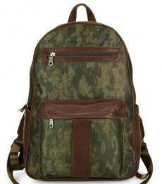 Robert Graham Olive Alban Printed Large Backpack