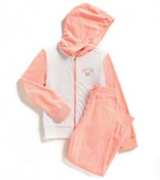 Juicy Couture 2 Piece Hoodie/Joggers Set (Girls)