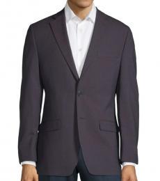 Calvin Klein Blue Extra Slim Fit Mini Jacket