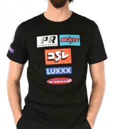 Diesel Black Print Just T-Shirt