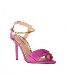 Fuchsia Patsy Heels