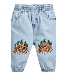 Stella McCartney Baby Boys Blue Chambray Trousers