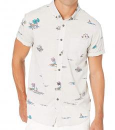 Off White Mini Short Sleeve Shirt
