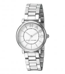 Marc Jacobs Silver Crystal Watch