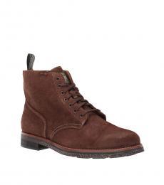 Ralph Lauren Chocolate Army Boots