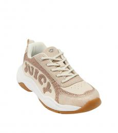 Juicy Couture Girls Rose Gold Beverly Sneakers