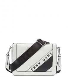 DKNY White Bond Small Crossbody