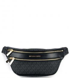 Michael Kors Black Kenly Waist Bag