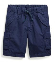 Ralph Lauren Little Boys Newport Navy Ripstop Cargo Shorts