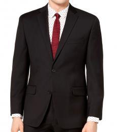 Michael Kors Black Classic-Fit Suit Jacket