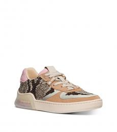 Coach Snake Print CitySole Court Sneakers