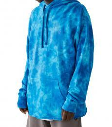 True Religion Turquoise Tie Dye Hoodie