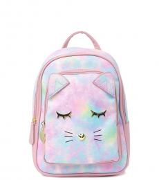 Betsey Johnson Multicolor Quilted Small Backpack