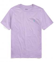 Boys English Lavender Crewneck T-Shirt