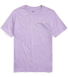 Ralph Lauren Boys English Lavender Crewneck T-Shirt