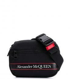 Alexander McQueen Black Logo Mini Belt Bag