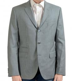 Hugo Boss Grey Wool Sport Coat
