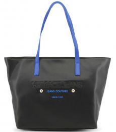 Versace Jeans Black Couture Large Tote