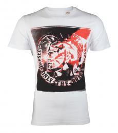 White Mohawk Casual T-Shirt