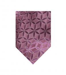Valentino Garavani Orchid Pink Floral Tie