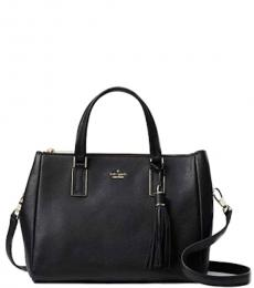 Black Naomi Medium Satchel