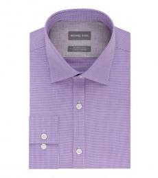 Lavender Regular Fit Airsoft Dress Shirt