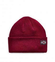 Ralph Lauren Harvard Cherry Everyday Watch Cap