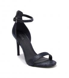 Cobalt Harper Glitter Heels