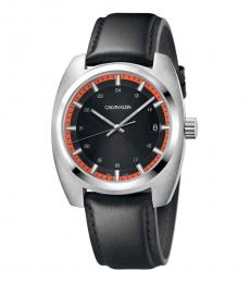 Calvin Klein Black Achieve Black Dial Watch