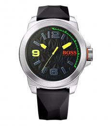 Hugo Boss Black Silicone Watch