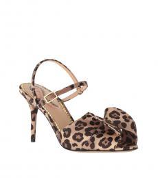Charlotte Olympia Leopard Print Patric Heels