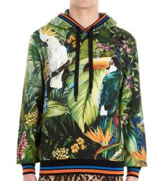 Multicolor Parrot Hooded Sweatshirt