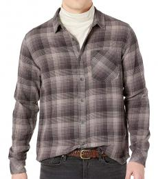 Billabong Dark Grey Freemont Flannel Shirt