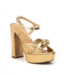 Gold Pippa Heels